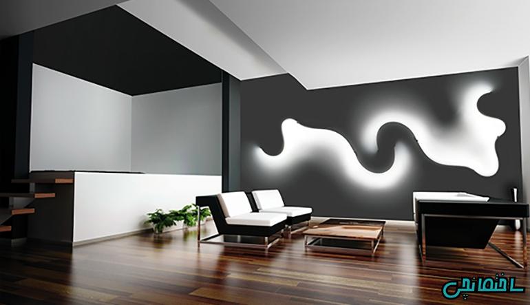 نورپردازی دیوار
