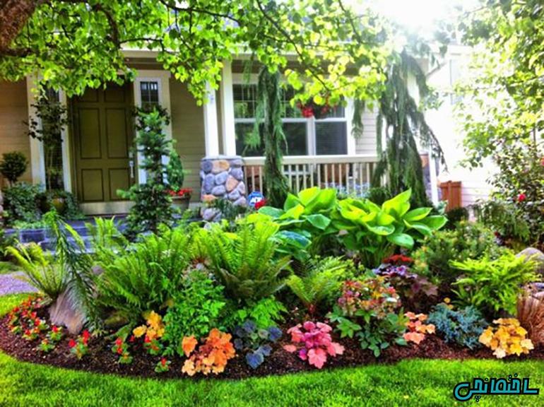 10 عکس برتر طراحی باغ و فضای سبز