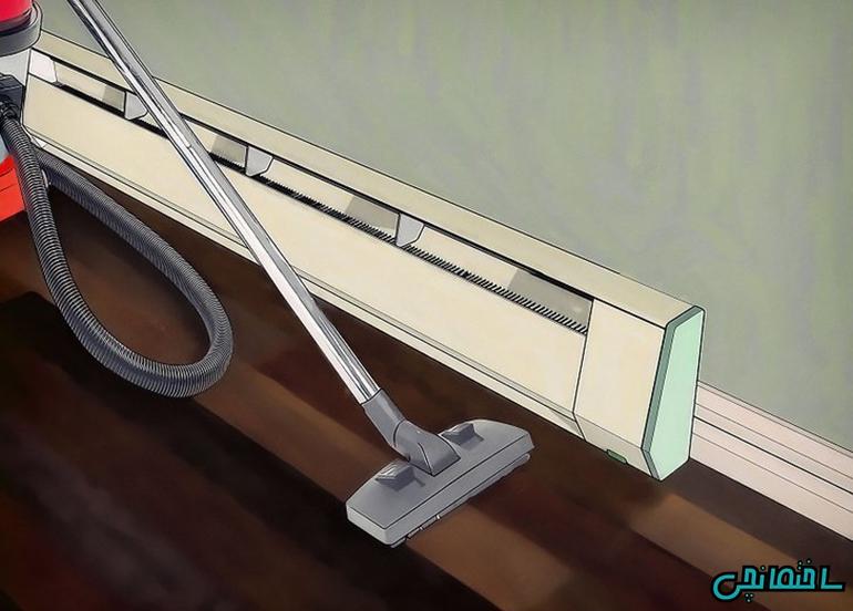 %عکس - نحوه تمیز کردن اجزای رادیاتور پنلی