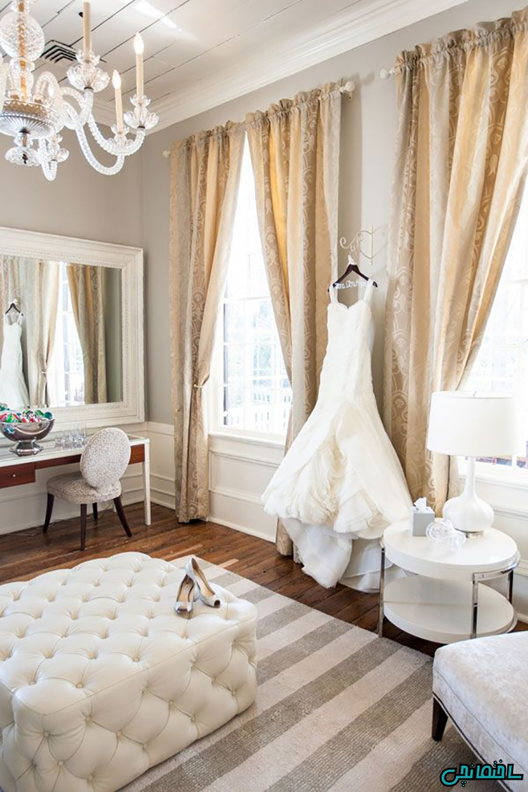 %عکس - دکوراسیون منزل عروس و نکات ریز چیدمان آن