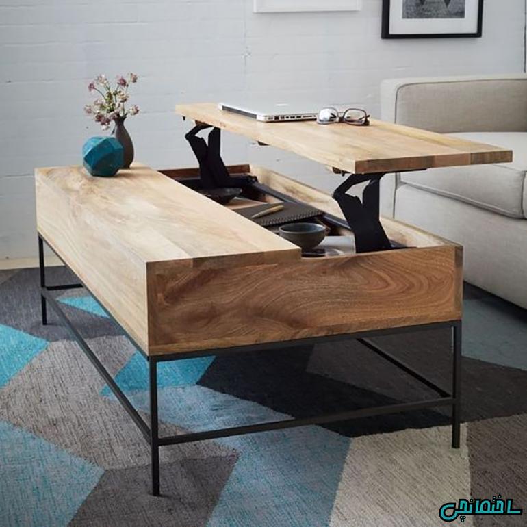 %عکس - 15 مدل برتر و خلاقانه میز جلو مبلی