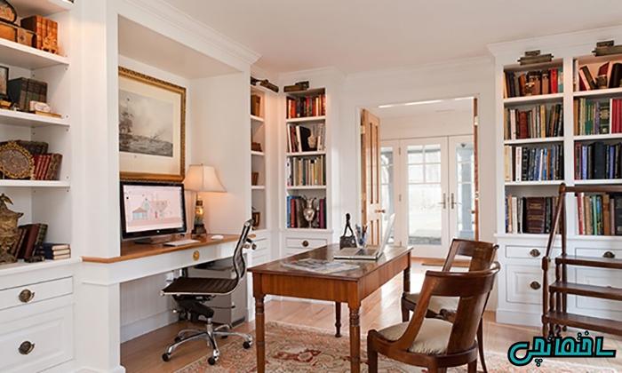 %عکس - نکات مهم در طراحی اتاق کار منزل