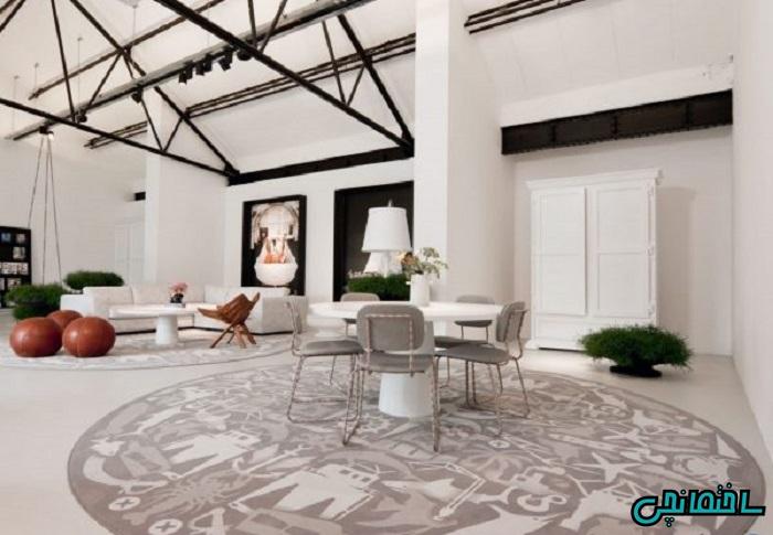 فرش گرد