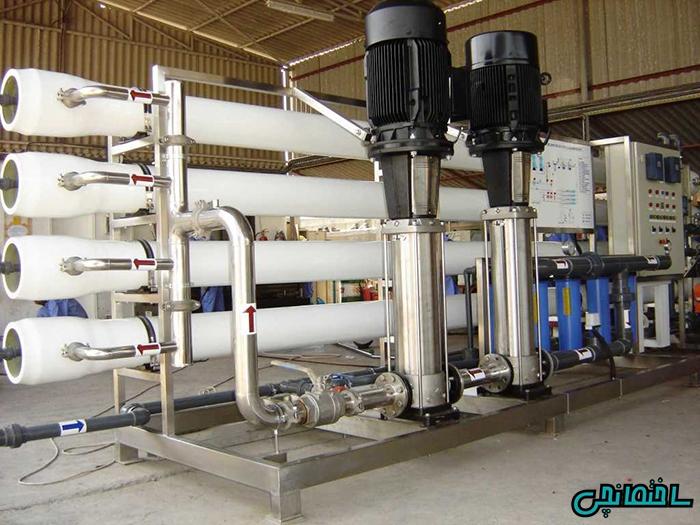 %عکس - دستگاه تصفیه آب صنعتی چیست؟