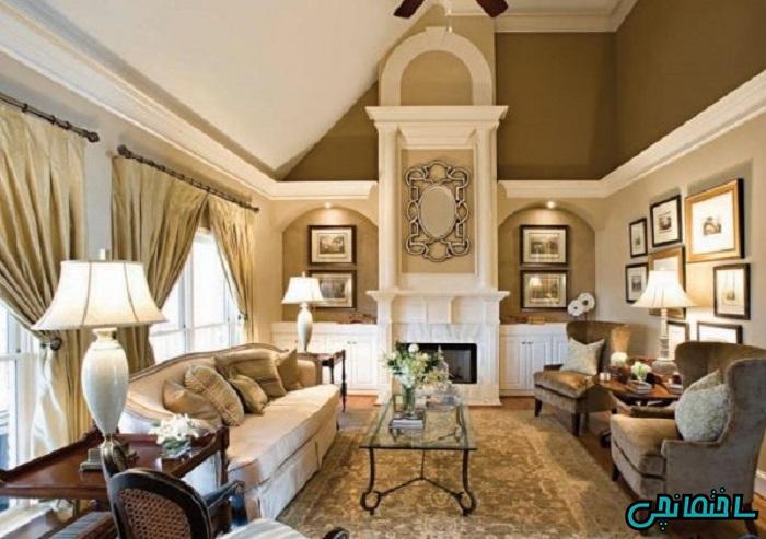 ست کردن فرش با دیوارها, پرده و کوسن