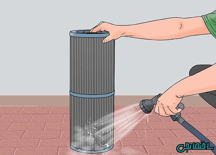 تمیز کردن فیلتر دیاموتیت