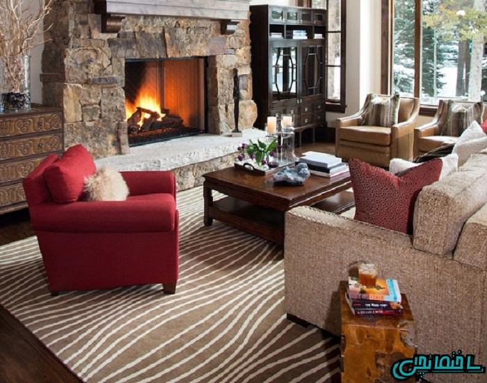 %عکس - فرش مناسب خانه های مدرن