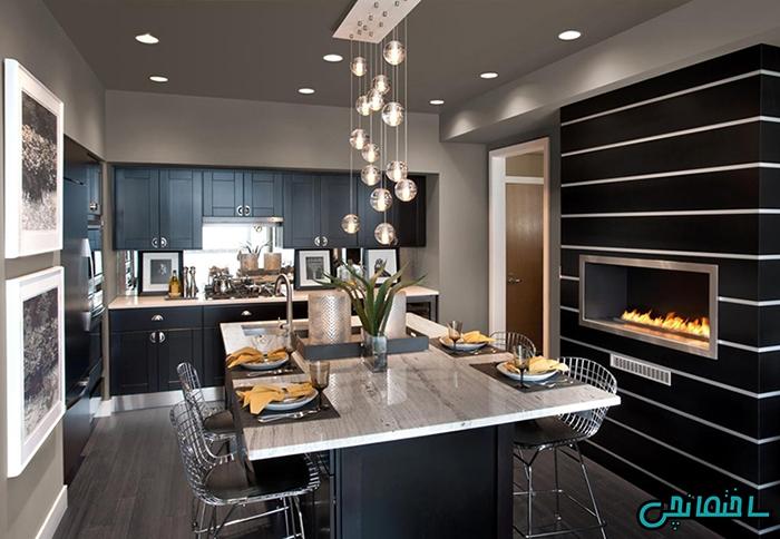 %عکس - چگونه آشپزخانه مدرن داشته باشیم!
