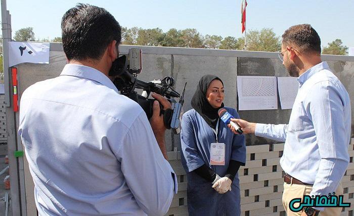 برگزاری نخستین مسابقه نماچینی آجر در اصفهان 98