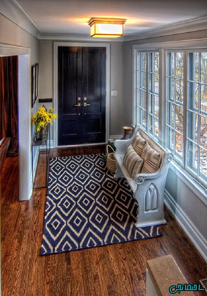%عکس - کاربرد فرش آنتیک در منزل