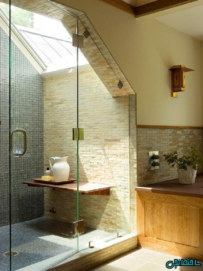 8 ترفند بزرگنمایی حمام و دستشویی کوچک