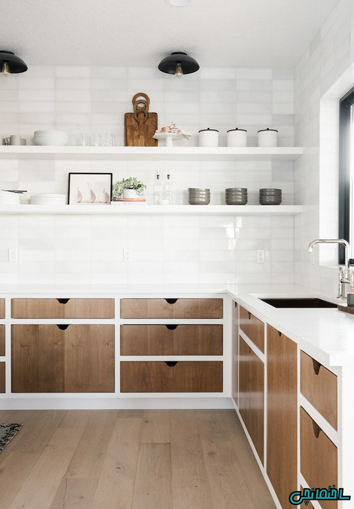%عکس - آشپزخانه ای به سبک مدرن