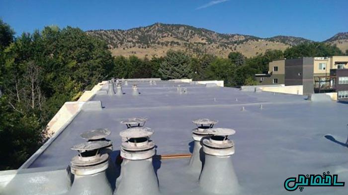%عکس - بازسازی پشت بام با سیستم های پوششی