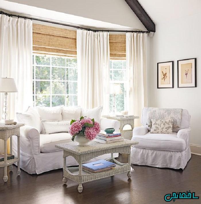 %عکس - انتخاب پرده مناسب اتاق خواب