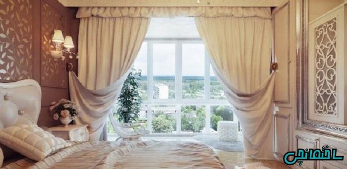 %عکس - چگونه پرده مناسب برای اتاق خواب انتخاب کنیم؟