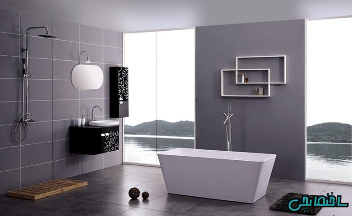 %عکس - چگونه حمام را مدرن طراحی کنیم؟