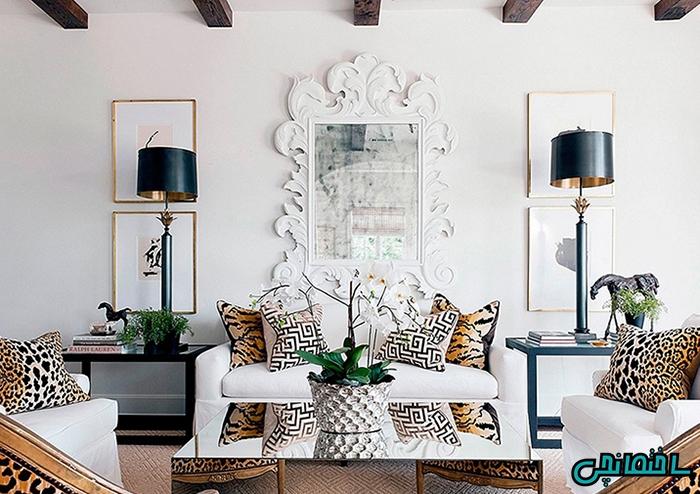 استفاده از الگوهای مناسب در طراحی داخلی