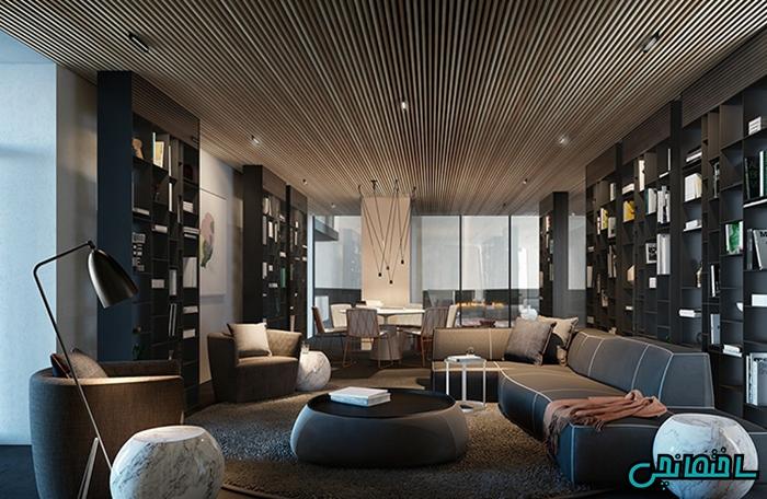 استفاده از چوب در دیزاین خانه