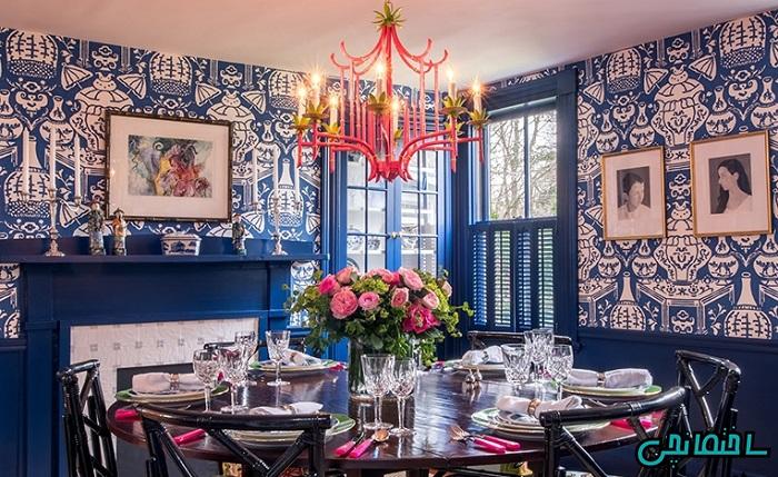 %عکس - ایده های طراحی اتاق غذاخوری