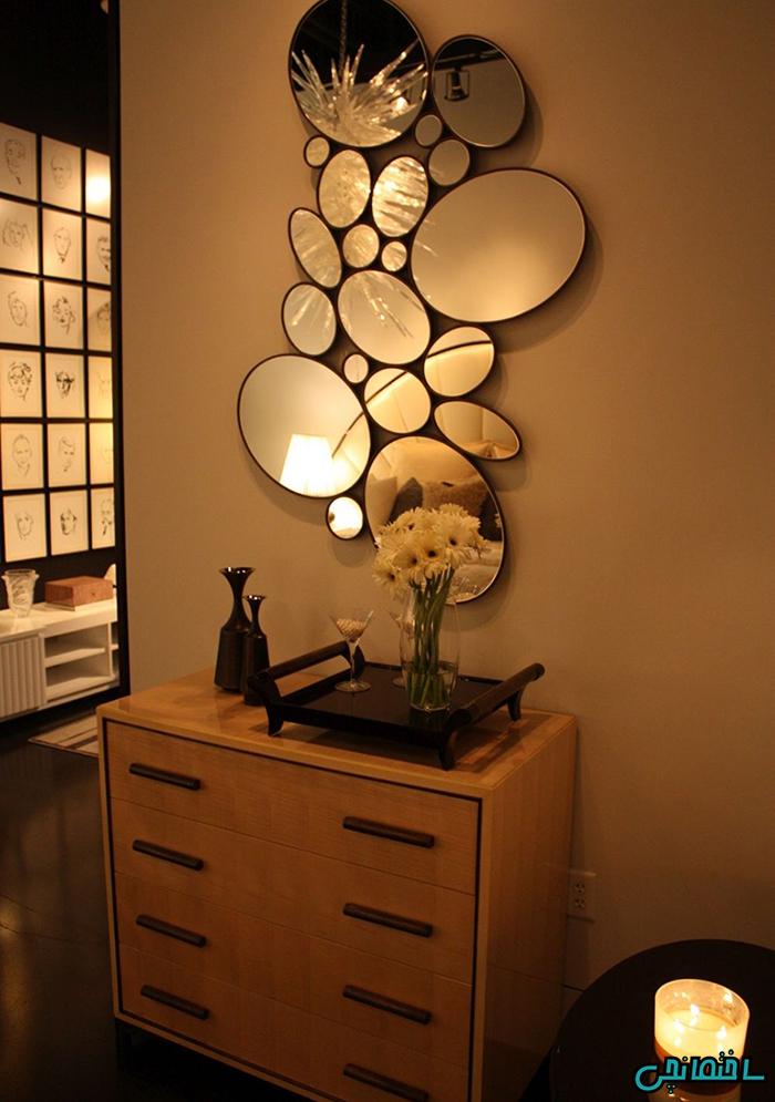 %عکس - راهکارهای استفاده از آینه در دیزاین فضای خانه