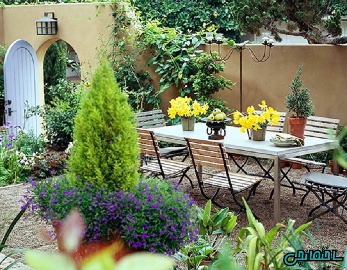 %عکس - جذاب ترین ایده های طراحی فضای بیرون منزل