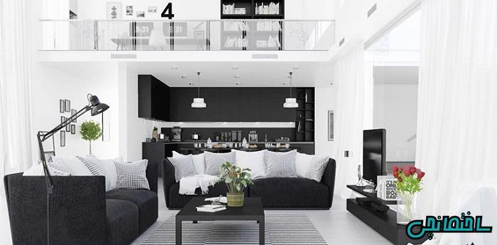 رنگ های سیاه و سفید
