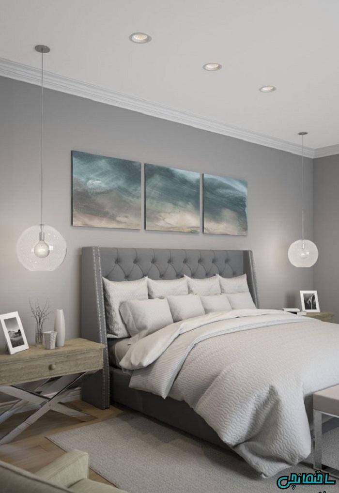 استفاده از وسایل روشنایی مناسب در کنار تخت