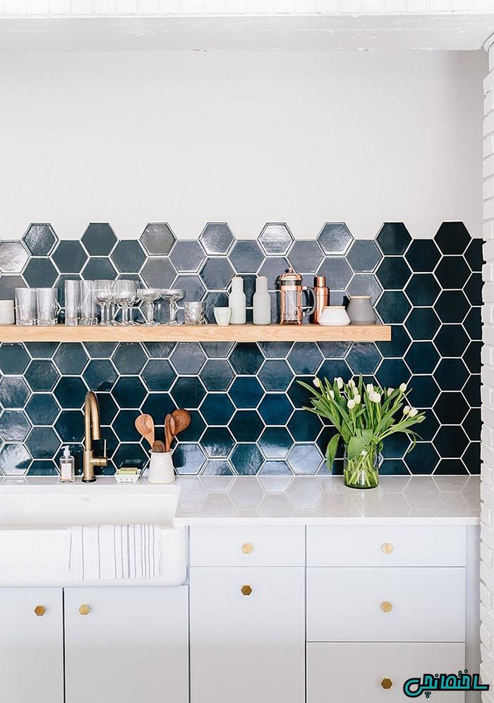 %عکس - مقرون به صرفه ترین ایده های تغییر در دکوراسیون آشپزخانه
