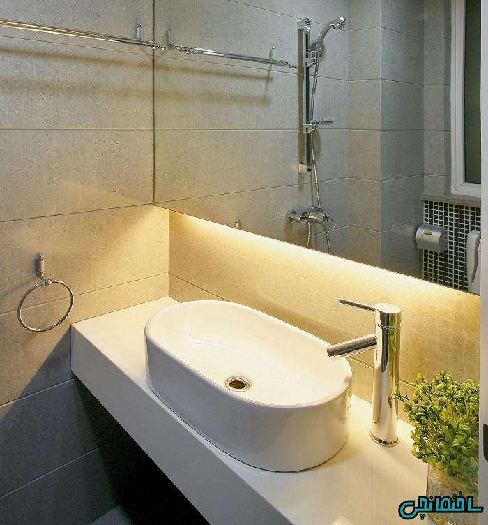%عکس - استفاده از لامپ های ال ای دی در فضای داخلی