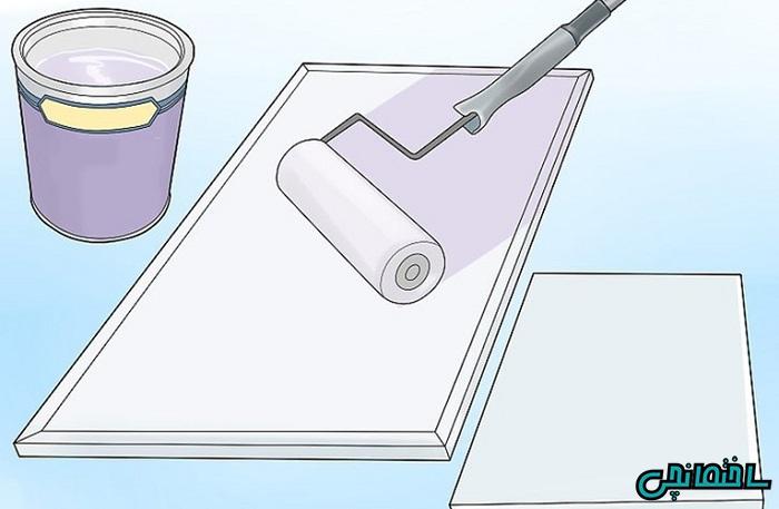 آموزش رنگ آمیزی کابینت