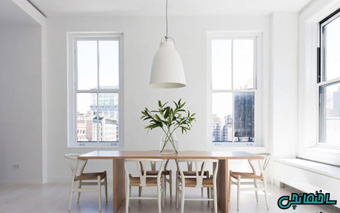 %عکس - رنگ سفید، انتخاب مناسب رنگ آمیزی دیوار