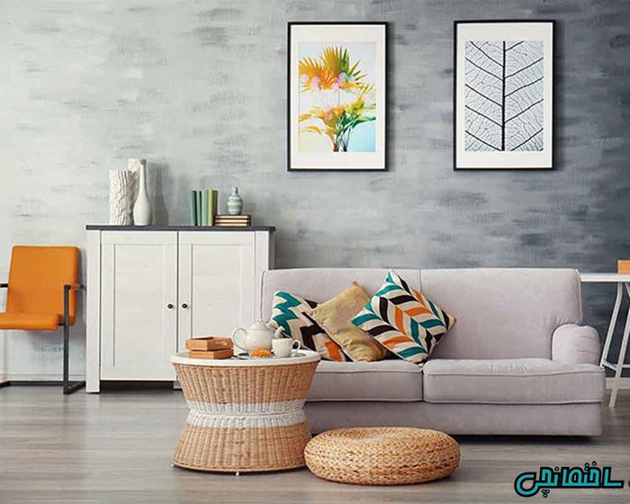 %عکس - ایده های رنگ آمیزی دیوار اتاق خواب