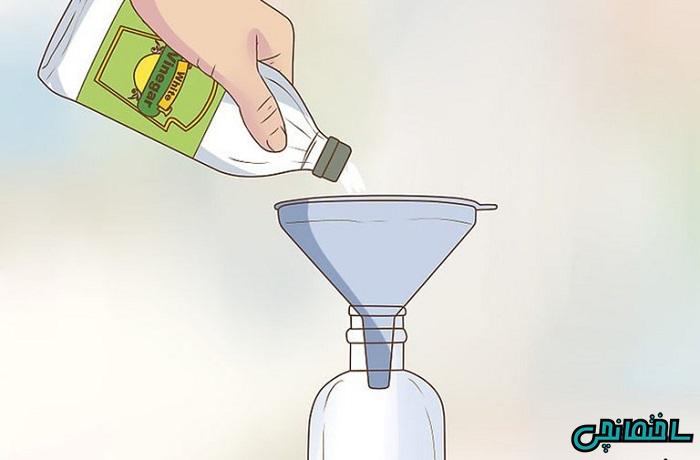 روش اول: پاک کردن لکه های چربی سطحی