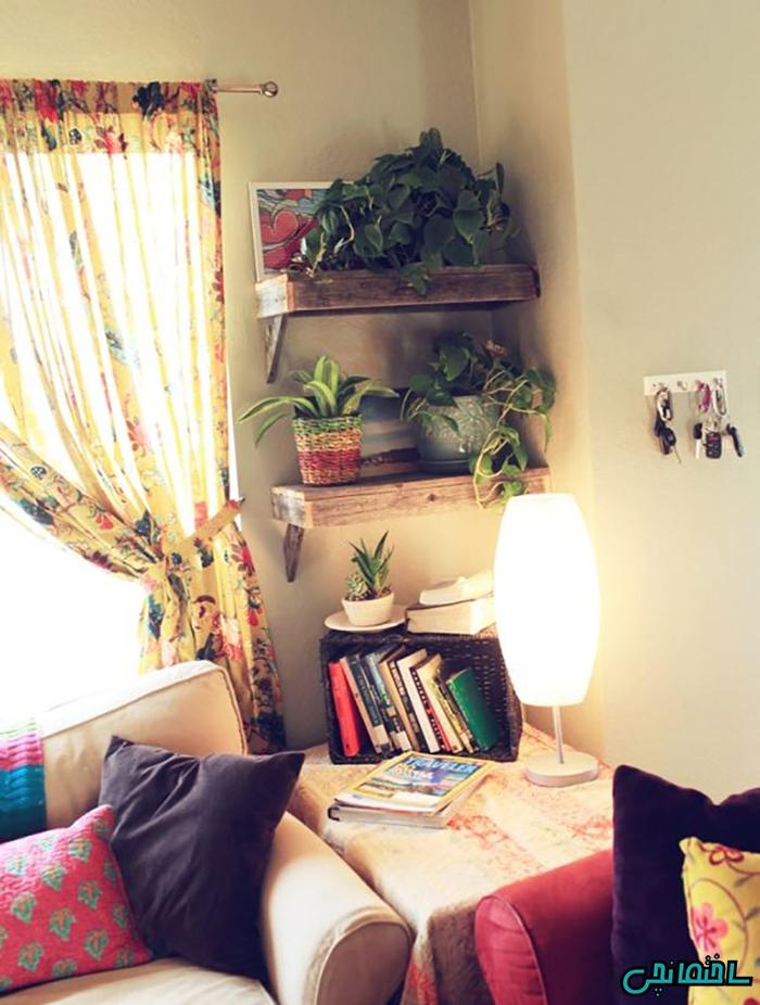 دکوراسیون منزل با استفاده از گل و گیاه