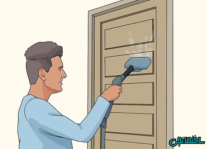 چگونه درب چوبی را تمیز کنیم!