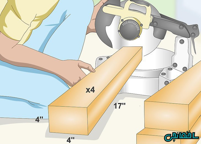آموزش ساخت میز چوبی