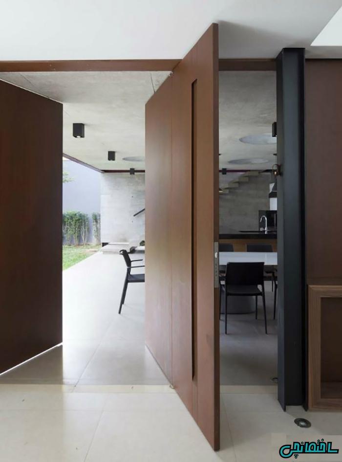 انواع درب داخلی مدرن