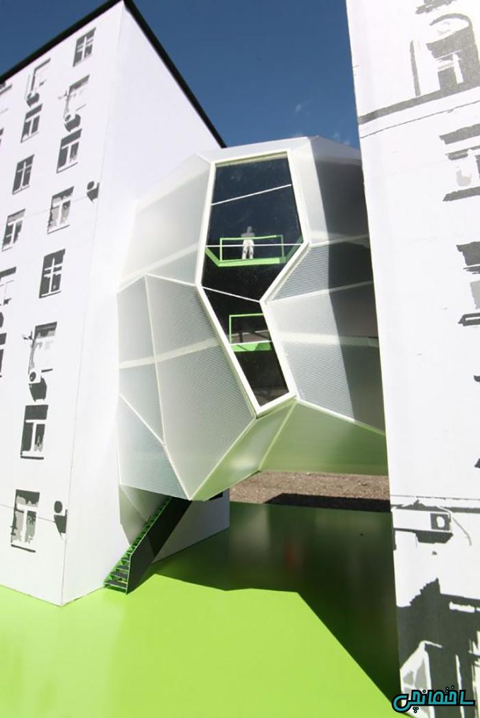 تصاویر طراحی دفتر کار در فضای پرت