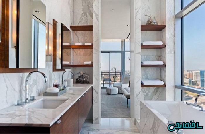 %عکس - 5 فاکتور موثر در زیباسازی فضای حمام و دستشویی