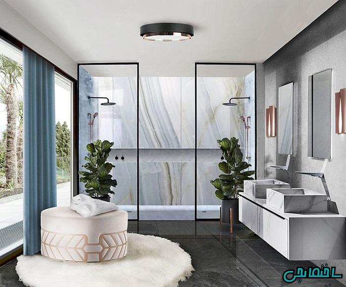 %عکس - حمام لوکس و روش های طراحی آن