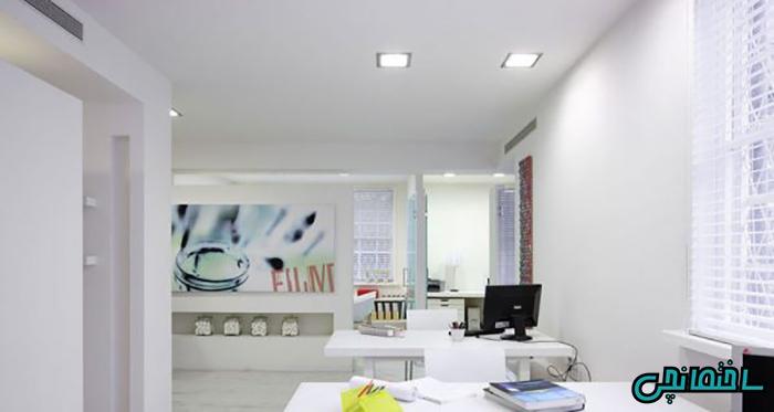 %عکس - ایده های طراحی دکوراسیون دفتر کار در خانه و اداره[مدرن، کلاسیک و ساده]