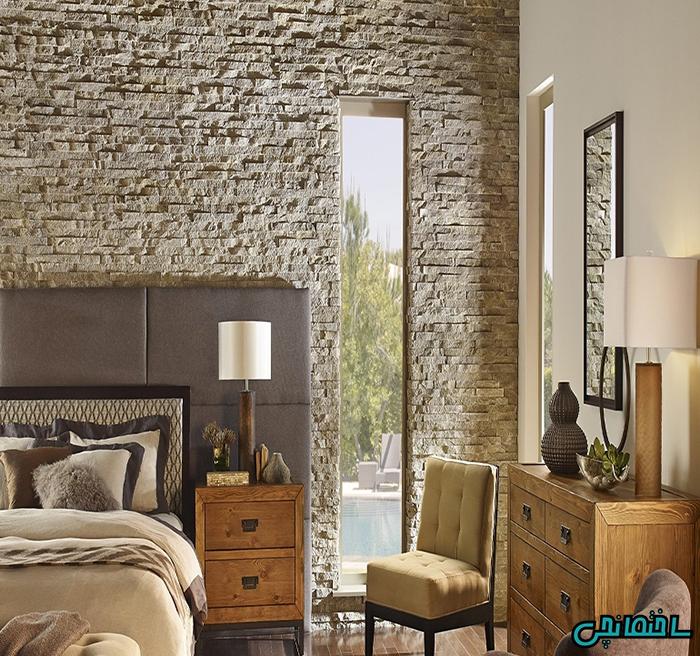 سنگ آنتیک در نمای داخلی و خارجی ساختمان