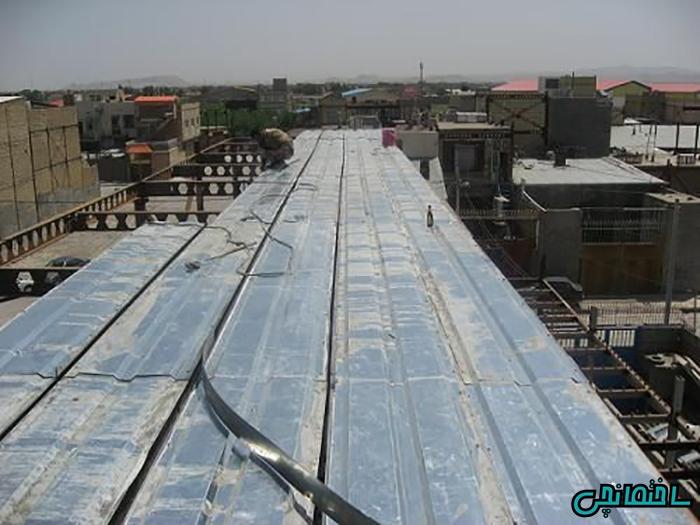 %عکس - کاربرد پانل های سقفی پیش ساخته ICP