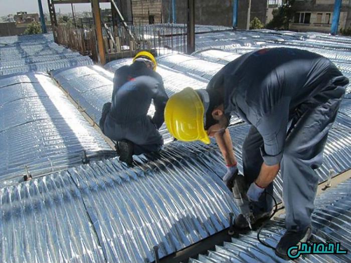 %عکس - بیگیت, سقفی سبک و مقاوم برای ساختمان