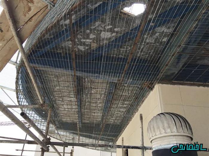 اجرای سقف رابیتس
