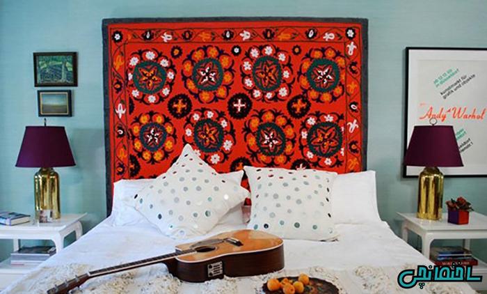 استفاده از قالیچه تزئینی