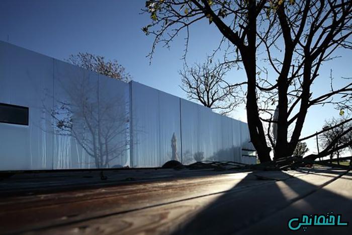%عکس - 20 ایده برای نمای ساختمان از جنس آینه