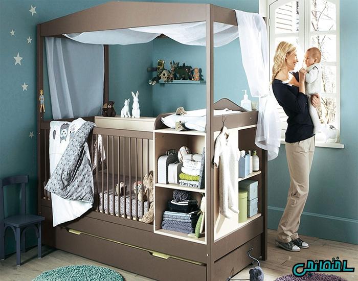 %عکس - نکات خرید سرویس خواب نوزاد