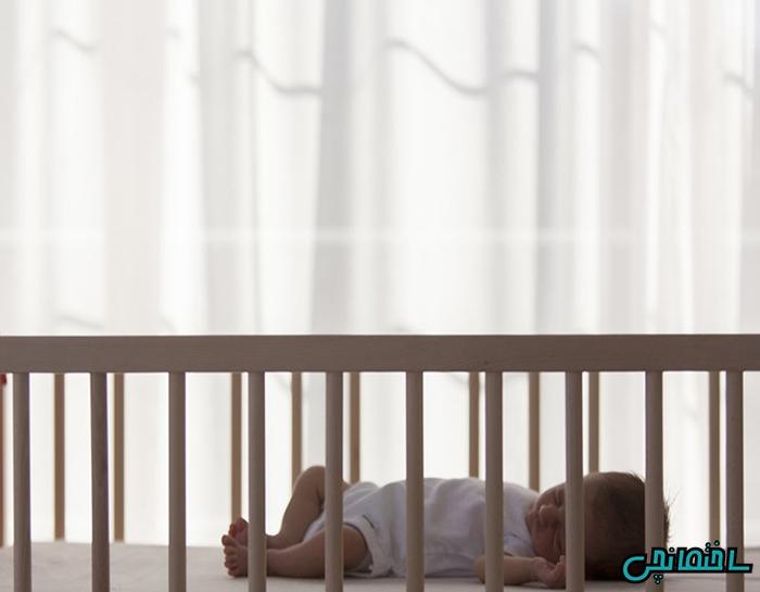 ارتفاع تختخواب نوزاد