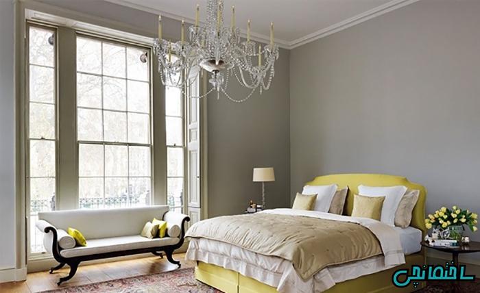 پتوهایی که بصورت مچاله بر روی تخت خواب قرار می گیرند